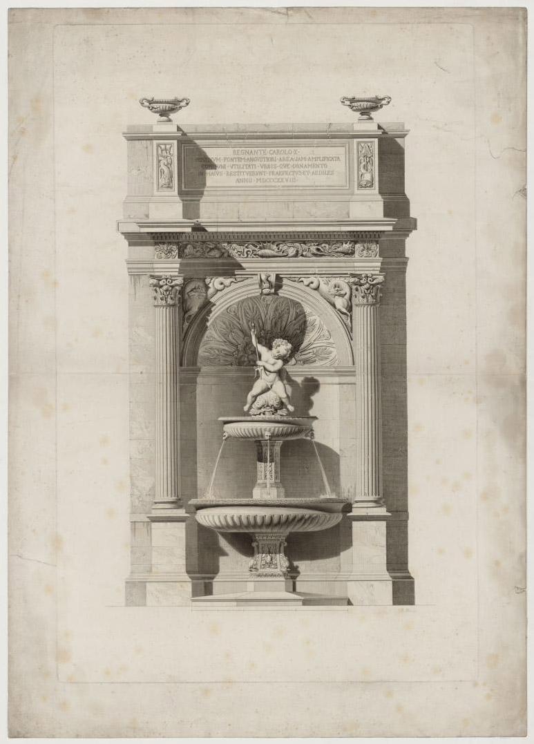 ville-anonyme-la-fontaine-gaillon-photo-ancienne